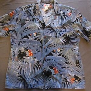 Mens Vtg Hilo Hattie Hawaiian Shirt Sz XL